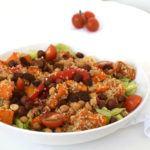 Pompoen quinoa salade (lauwwarm)