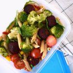 Snelle pasta met brocolli en bietenfalafel: Tuppeware Thursday