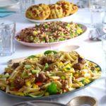 Vegan koken voor een groep vrienden en familie