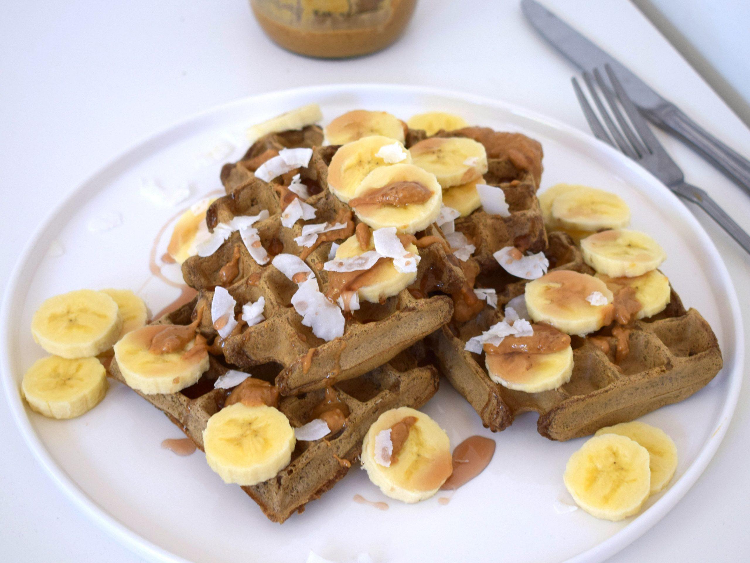Vegan wafels : lekker en gezond