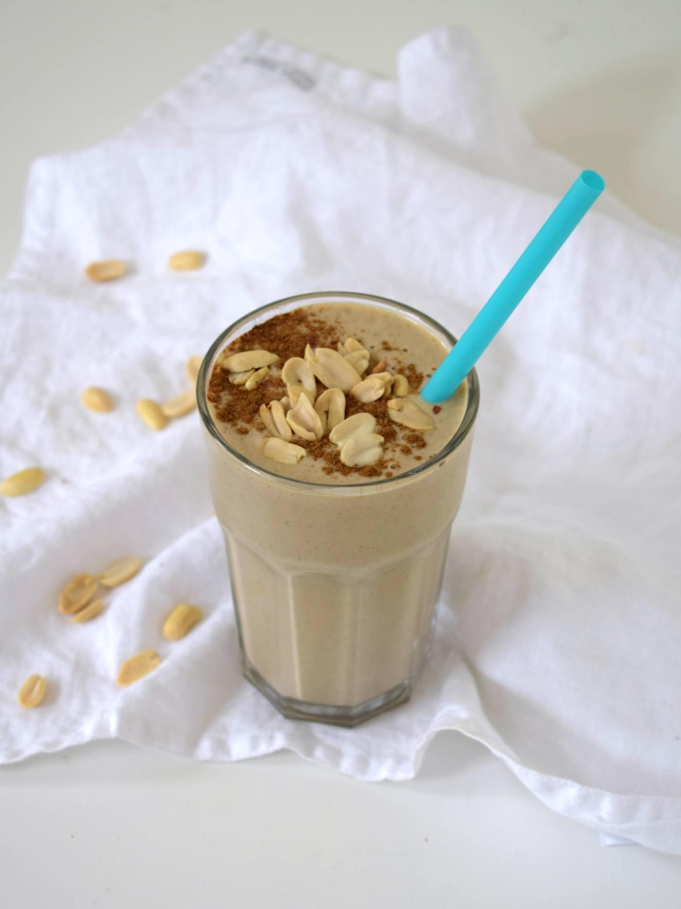 Vegan protein milkshake