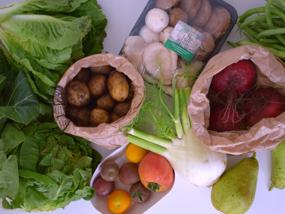 Review en recepten: Boerschappen box