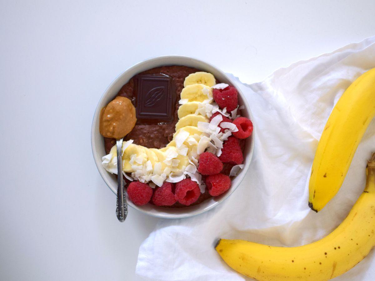 Chocolade verwen havermout (high protein)