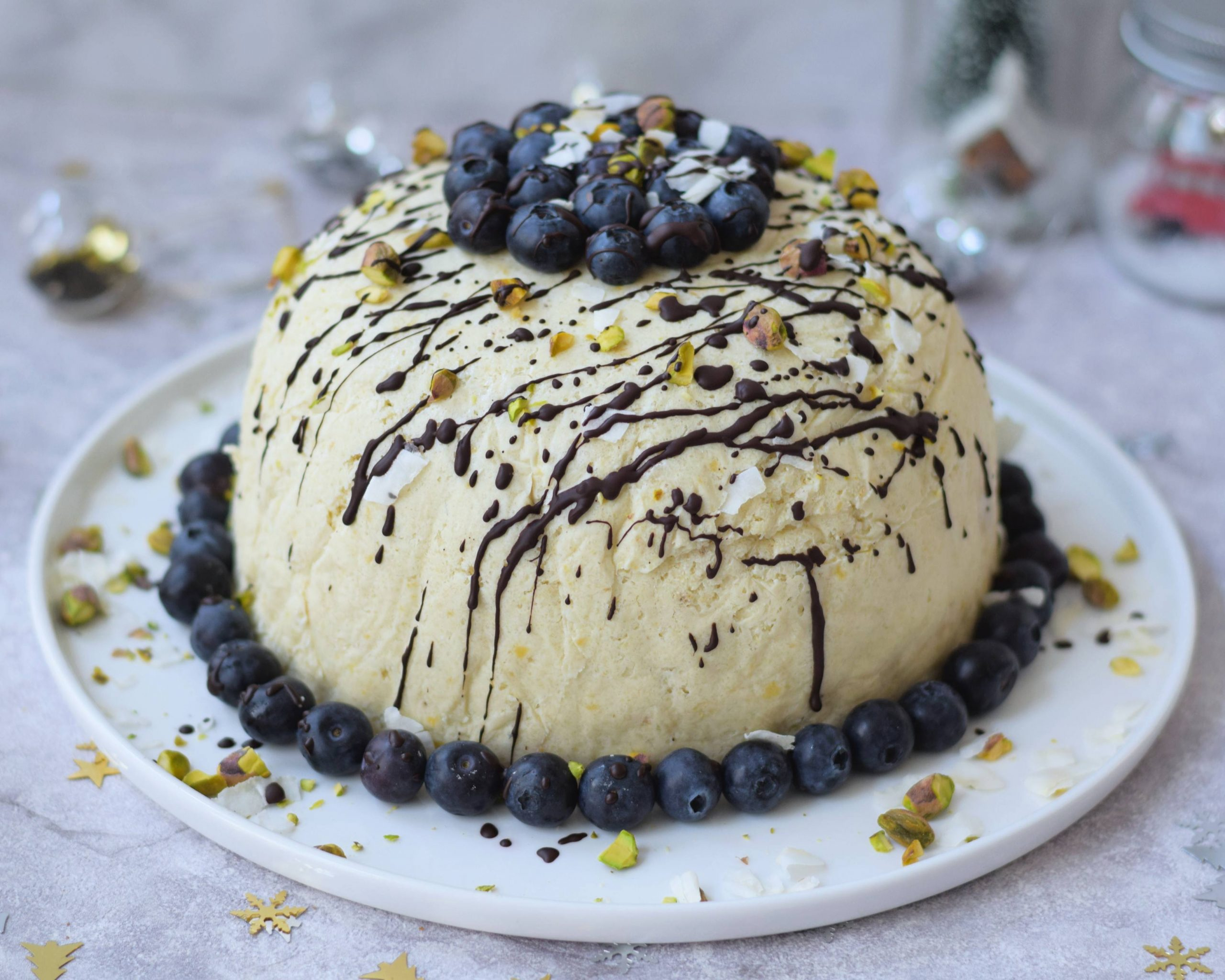 KERST: Vegan ijsbombe from scratch