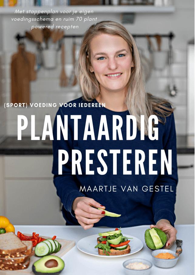 Mijn eerste boek: Plantaardig Presteren! Bestel hem nu
