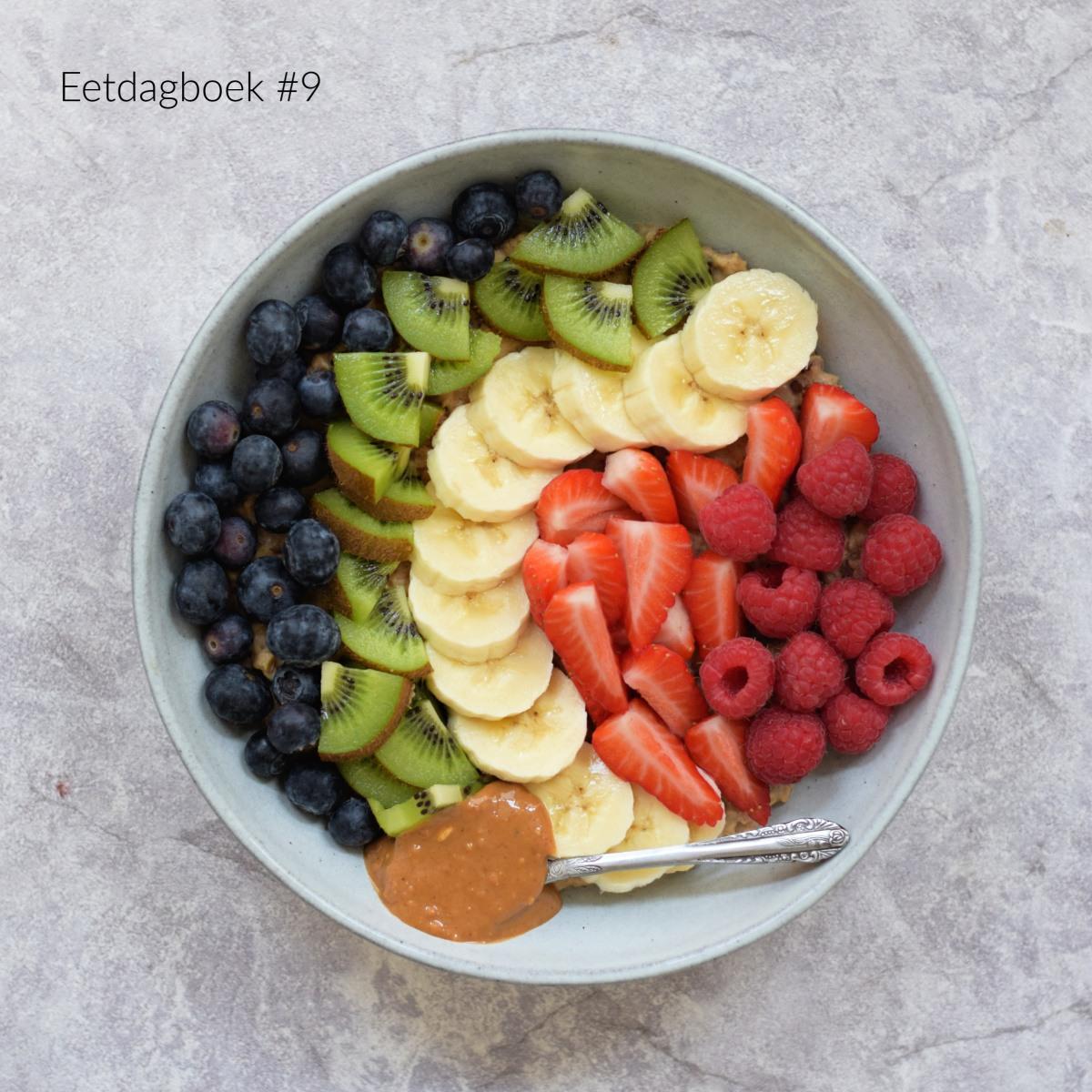 Vegan eetdagboek #9 – Wat ik eet op een dag