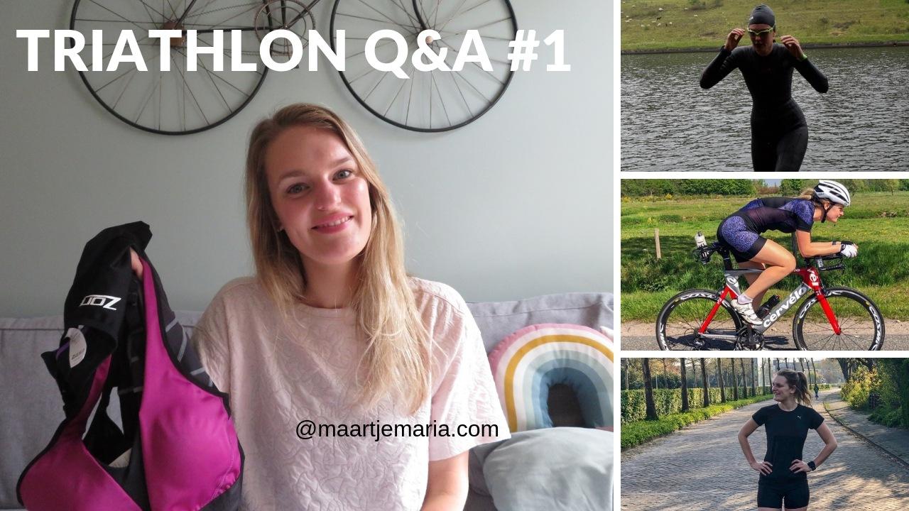Triathlon Q&A + Weekvlog # 22