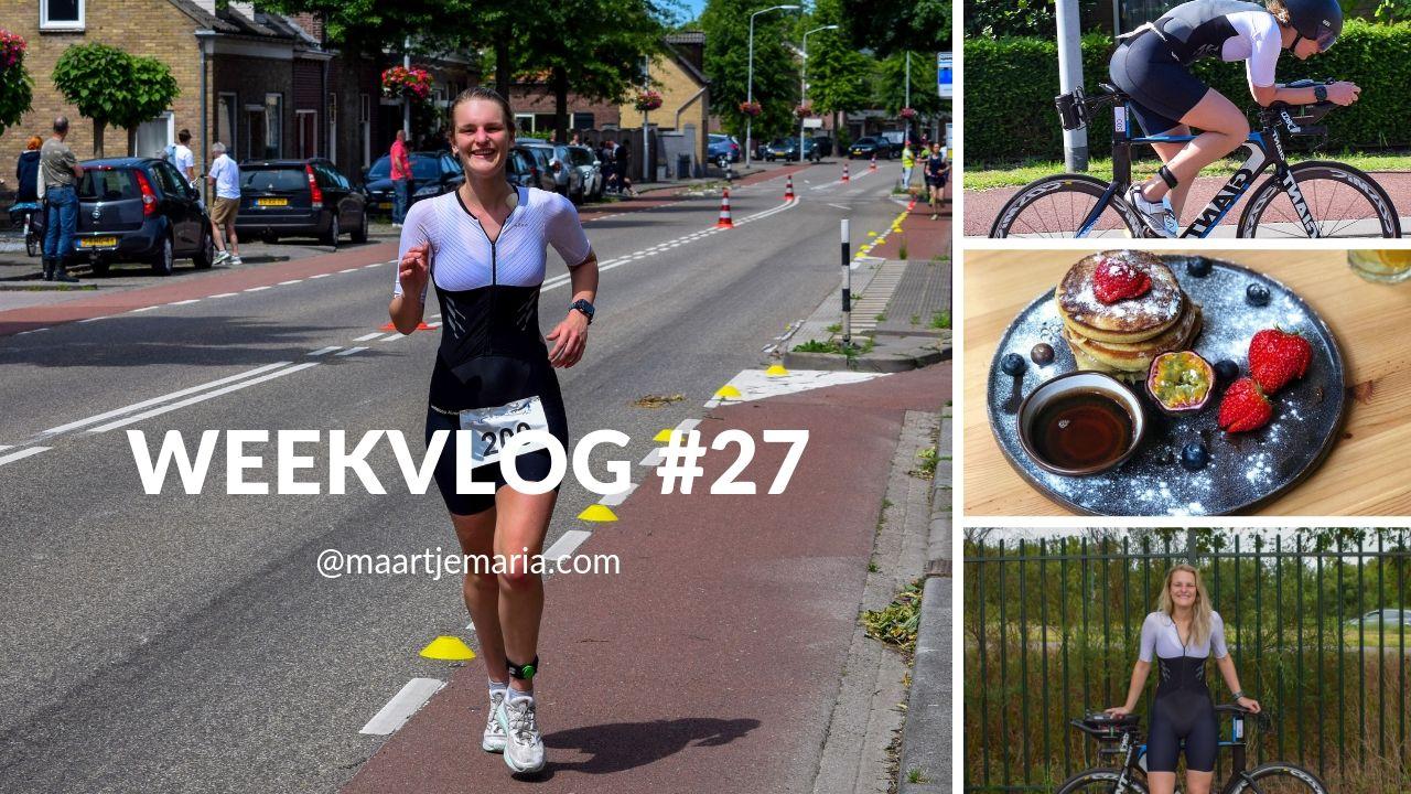 Weekvlog # 27 & Triathlon inpak video