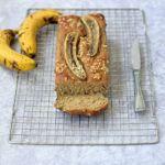 Vegan eiwitrijk bananenbrood / kwarkbrood