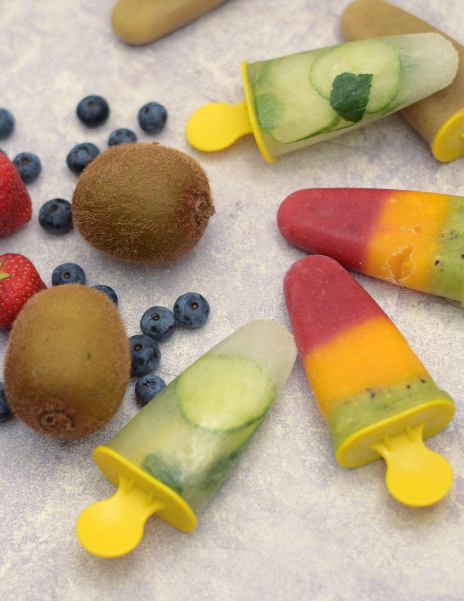 3x healthy vegan fruitijsjes