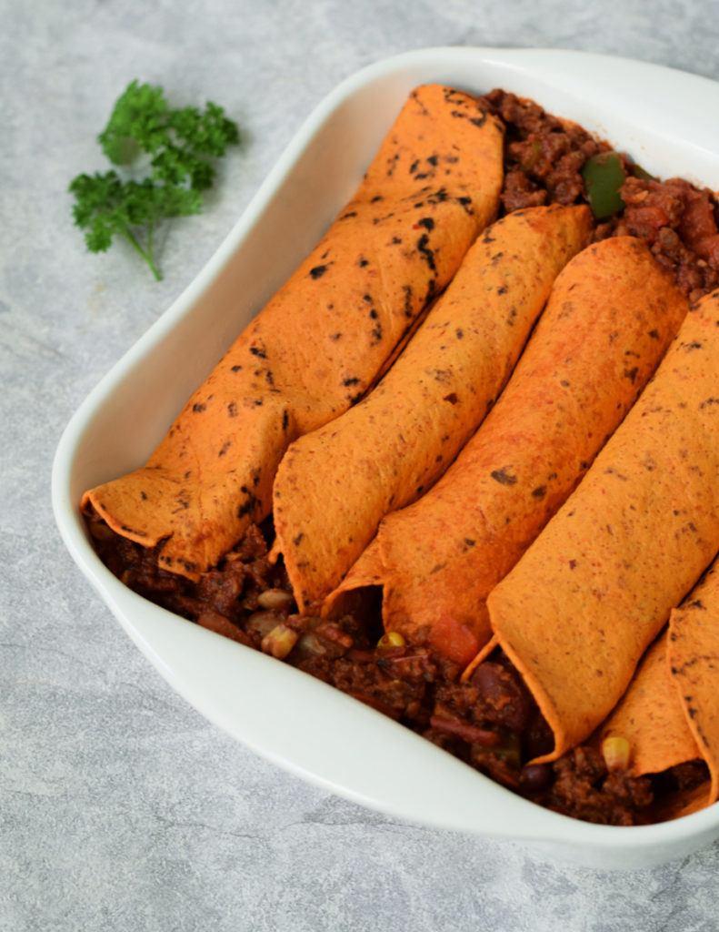 vegan mexicaanse burritos