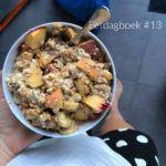 Vegan eetdagboek #13 – Wat ik eet op een dag