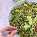 Tupperware thursday: quinoa boerenkool salade met avocado dressing