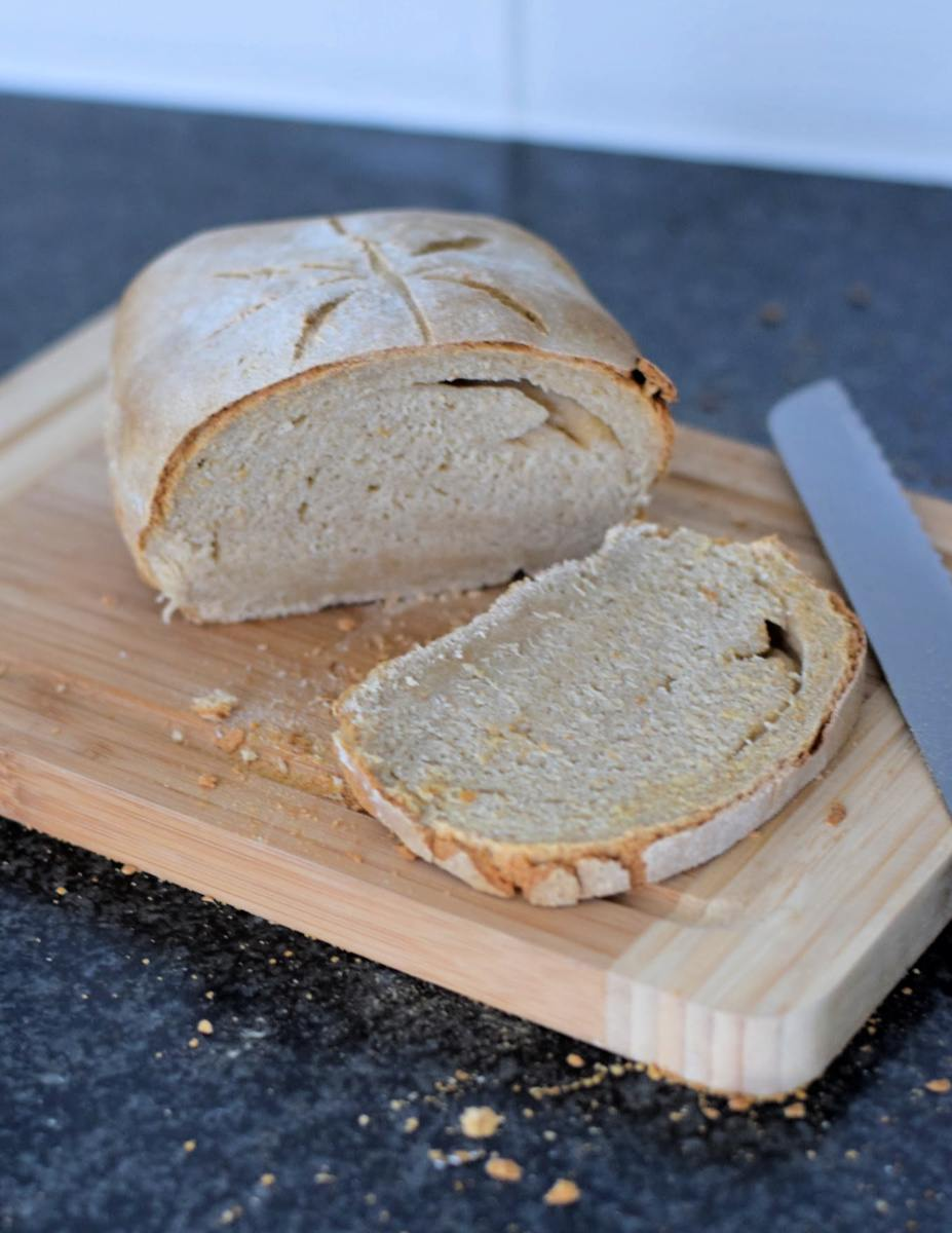 Spelt haver brood zonder broodbakmachine