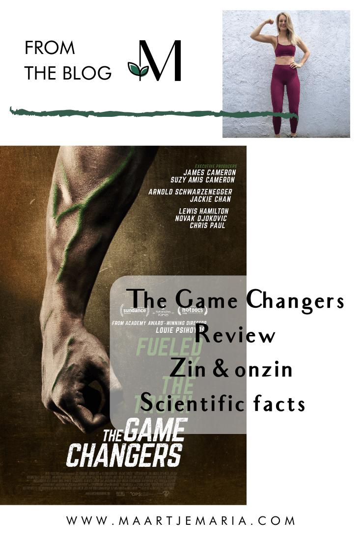De zin en onzin van the Game Changers docu