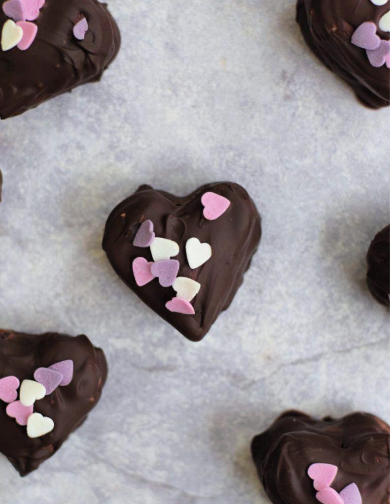 vegan valentine timtam