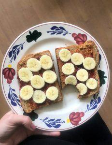 vegan eetdagboek sporter
