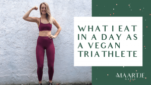 vegan eetdagboek van een sporter