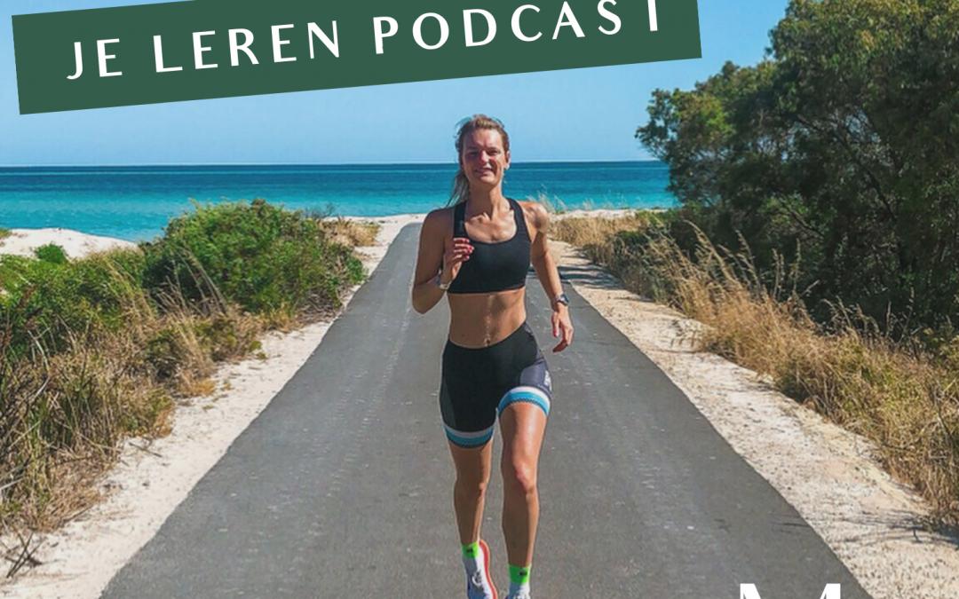 Presteren kun je leren podcast #8 De diepte in rondom plantaardig eten en duurzaamheid 2.0 met Lobke Faasen.