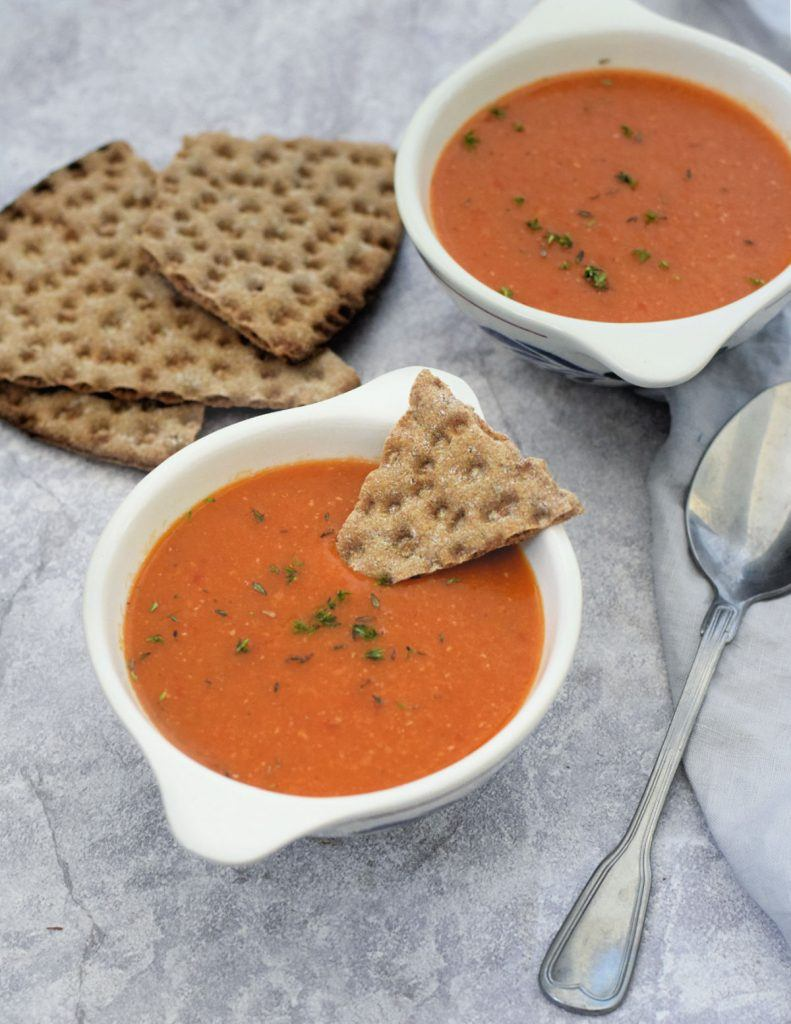vegan recept linzensoep