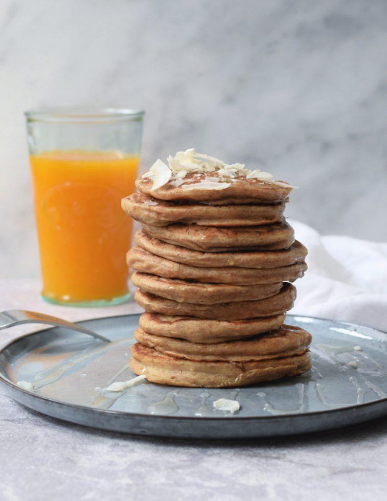 eiwitrijke pancakes
