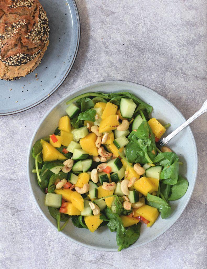 komkommer mango salade