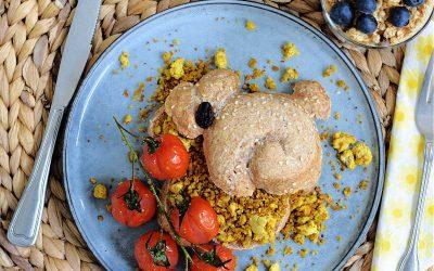 Een eivrije Pasen (vegan paas brunch)